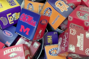 SEC College Emblem and Mascot Tissues