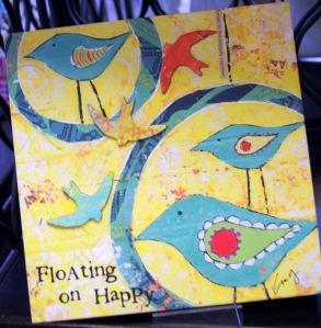 StudioBE Cindy Wunsch Happy Birds Painting